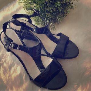 Predictions, EUC 7.5 Black Sandals 👡